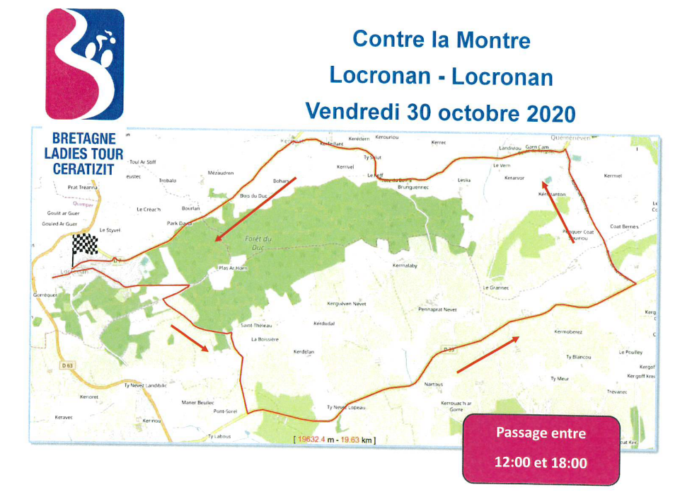 [ANNULÉ] Course cycliste Bretagne Ladies Tour Ceratizit @ Kergoat, Bourg