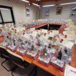 Distribution des colis de noël du CCAS