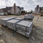 Images du chantier d'aménagement du bourg