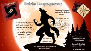 Soirée jeux : loup-garou @ Bibliothèque municipale